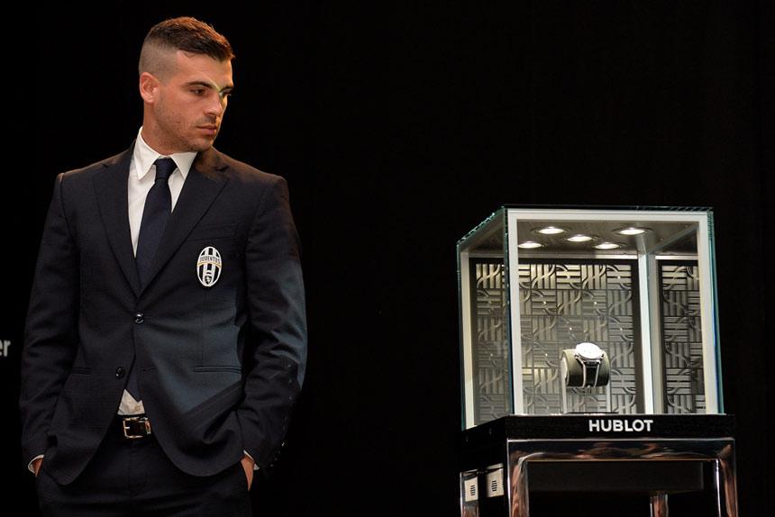 Big Bang Unico Bi-Retrograde Juventus - Stefano Sturaro ©LaPresse