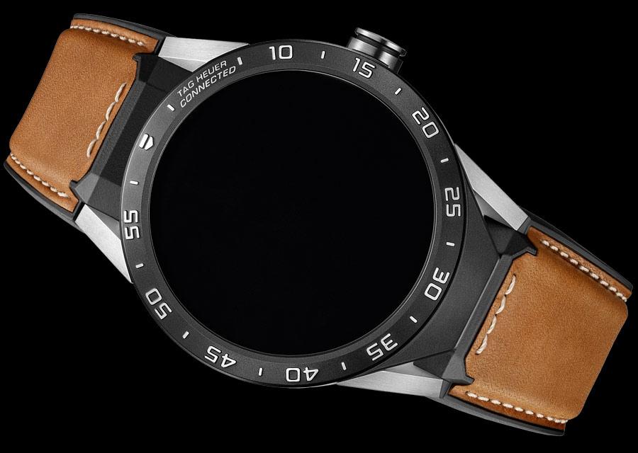 TAG Heuer Connected - Version exclusive sur bracelet cuir