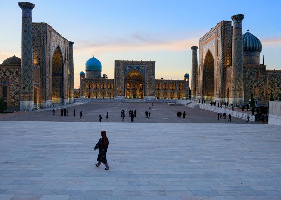 Samarcande : Ouzbekistan