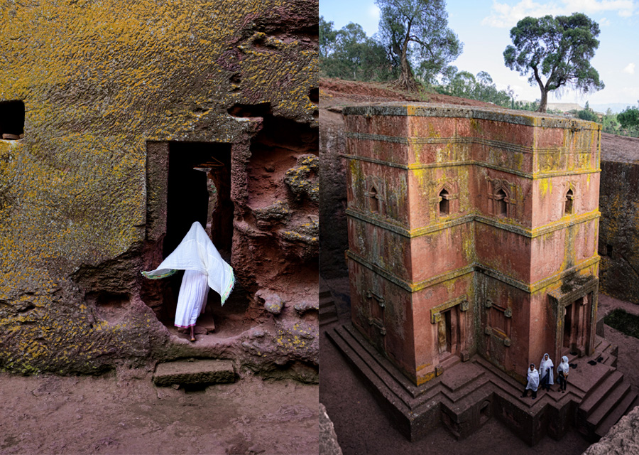 Lalibela : Ethiopie