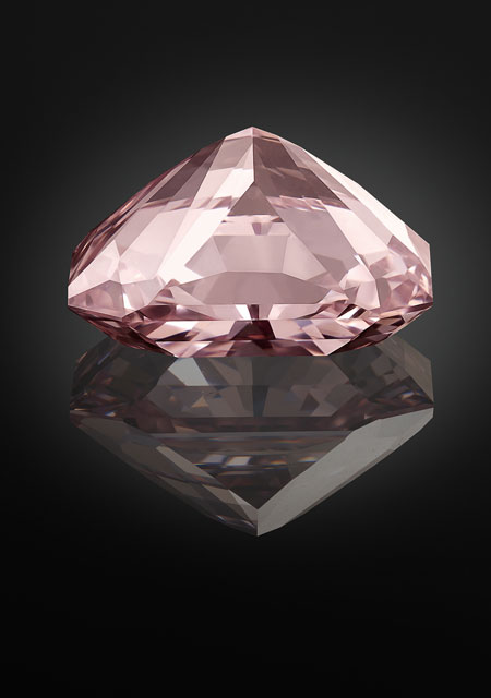Agra, diamant rose - 1526 - © The Al Thani Collection