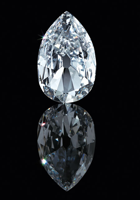 Diamant Arcot II, vers 1760 - © The Al Thani Collection 2016