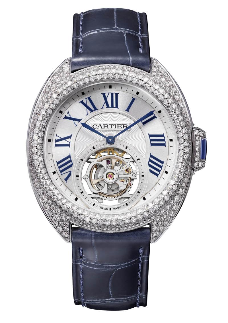 Clé de Cartier -Tourbillon Diamants