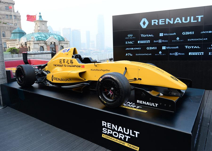 La Formule 1 Renault RS16