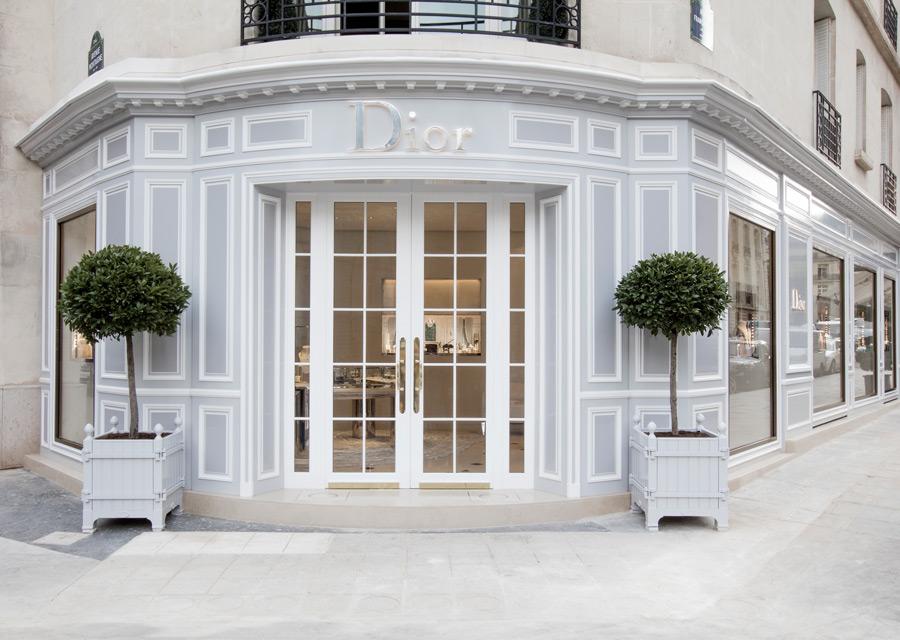 Nouvelle boutique Dior Joaillerie et Horlogerie avenue Montaigne
