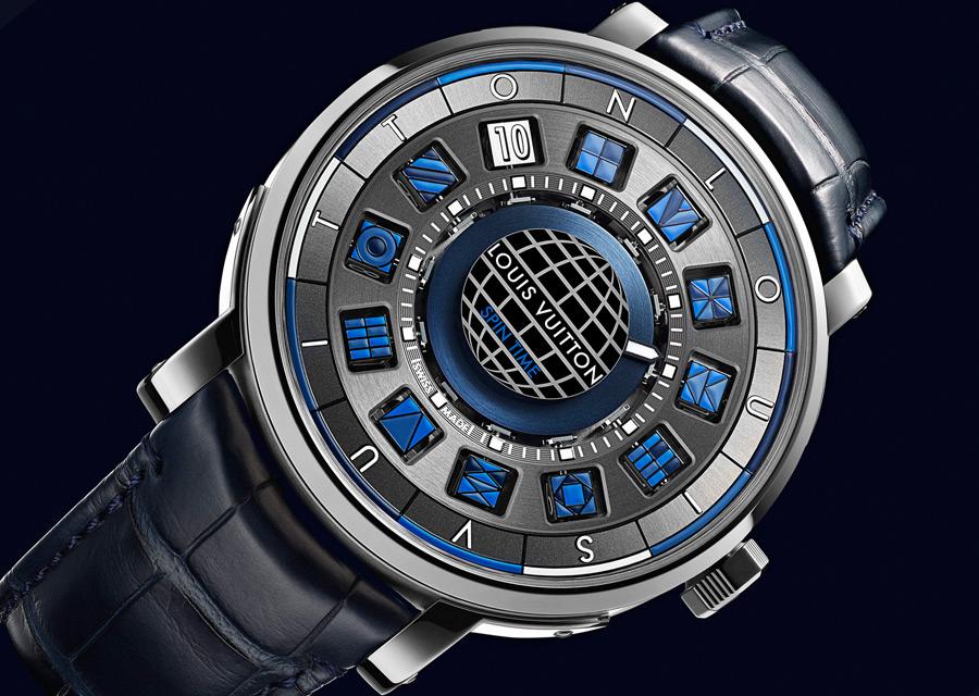 Louis Vuitton Escale Spin Time Bleue
