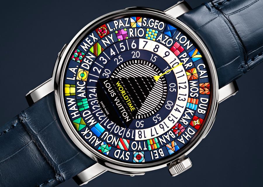 Louis Vuitton Escale Worldtime Bleue