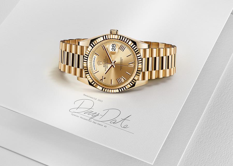 Rolex Day-Date en or jaune