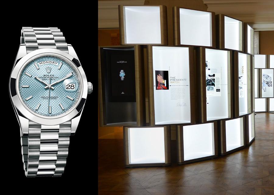 Rolex Day-Date en platine 950 - Expo Rolex