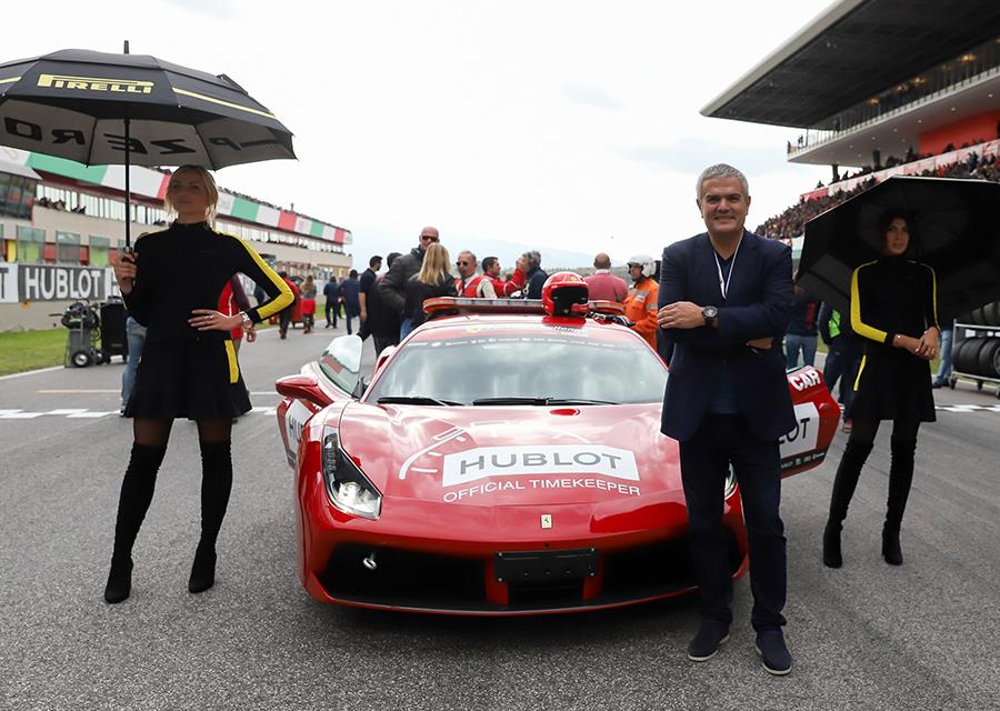 Ricardo Guadalupe, CEO de Hublot, la marque horlogère partenaire de Ferrari