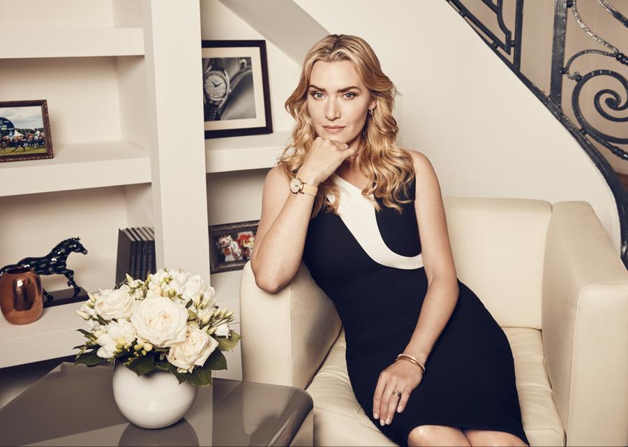 Kate Winslet, ambassadrice Longines de l'Elégance