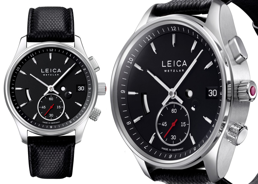 La nouvelle montre Leica L2 avec fonction GMT