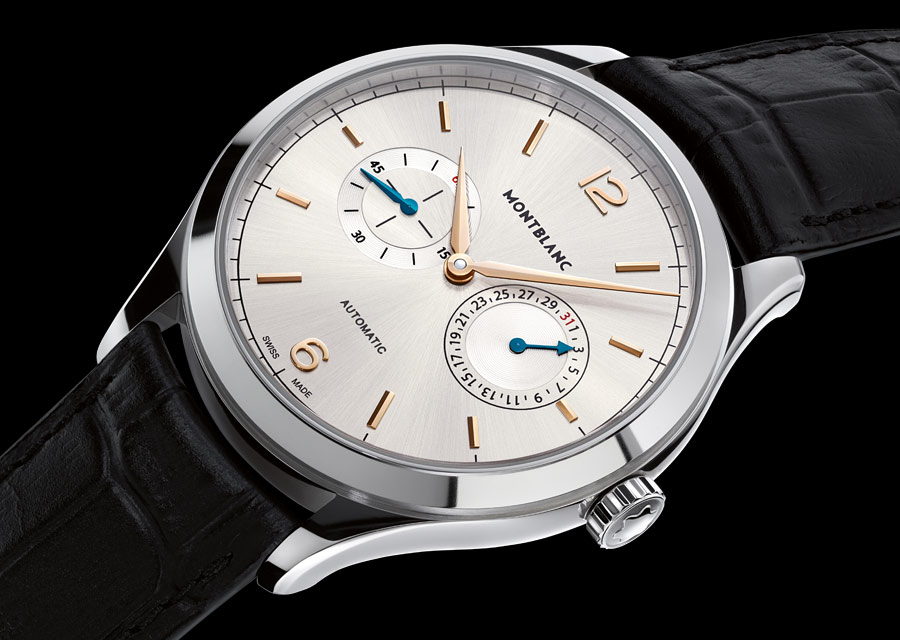 Montblanc Heritage Chronométrie Date by Hand