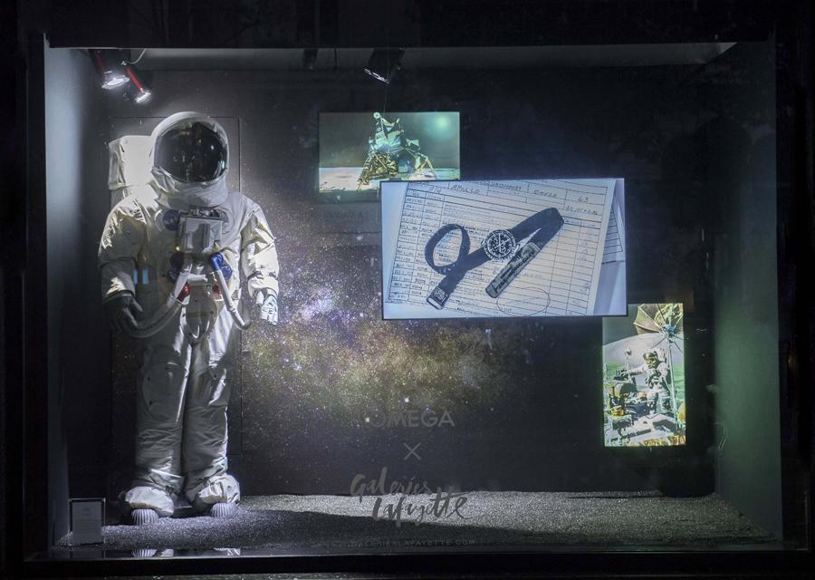 La Speedmaster surnommée la ''MoonWatch'' pour avoir accompagner les premiers pas de l'homme sur la Lune