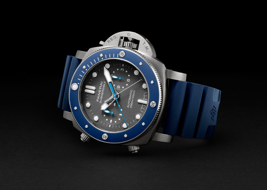 Panerai Submersible Chrono Édition Guillaume Néry, SIHH 2019