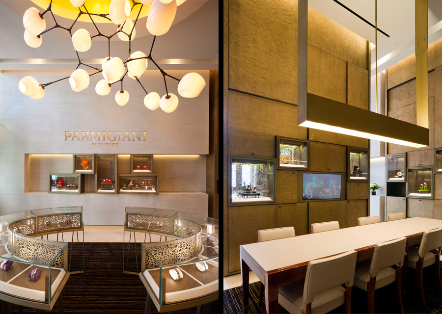 La boutique Parmigiani Fleurier à Miami