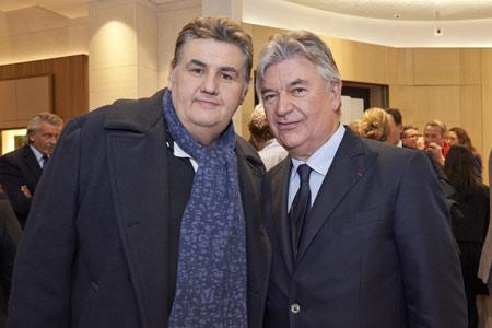 Pierre Ménès et Pierre Dubail
