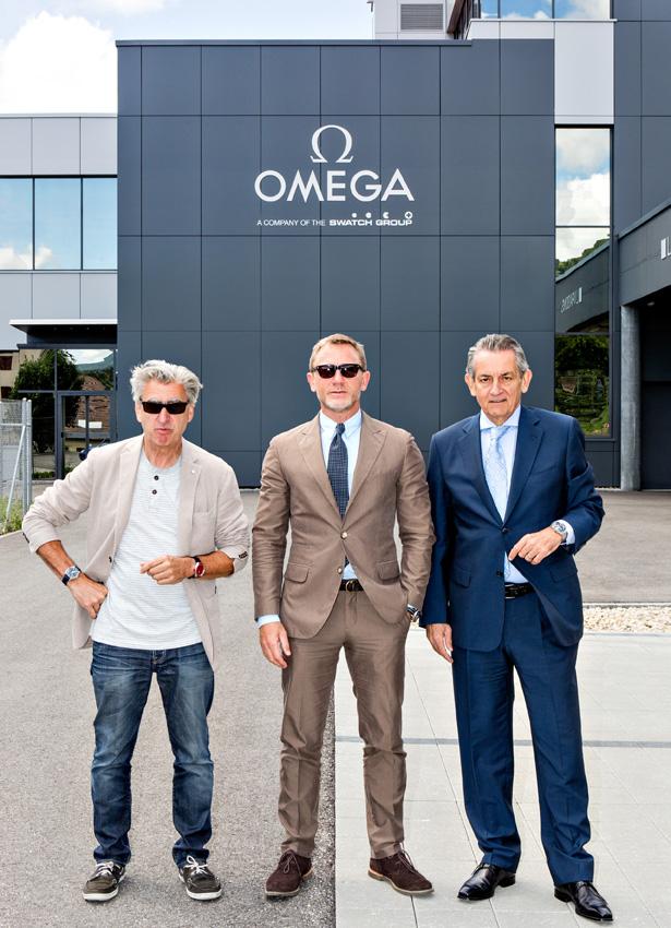 Daniel Craig, Nick Hayek et Stephen Urquhart