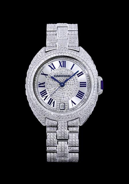 Clé de Cartier - Pavé - Modèle Femme