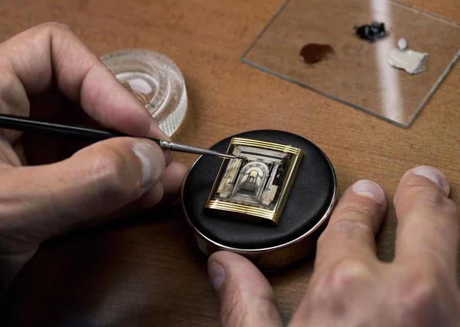 Jaeger-LeCoultre, une Reverso en hommage à la Scuola Grande di San Rocco de Venise - crédit phto Johann Sauty