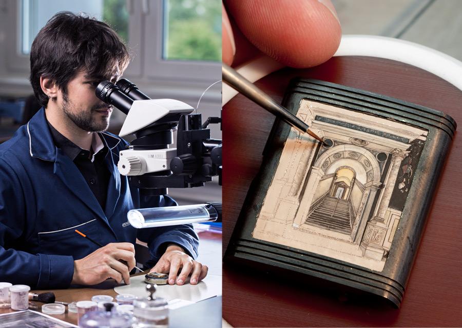Jaeger-LeCoultre, une Reverso en hommage à la Scuola Grande di San Rocco de Venise - crédits photos Johann Sauty, Eveline Perroud