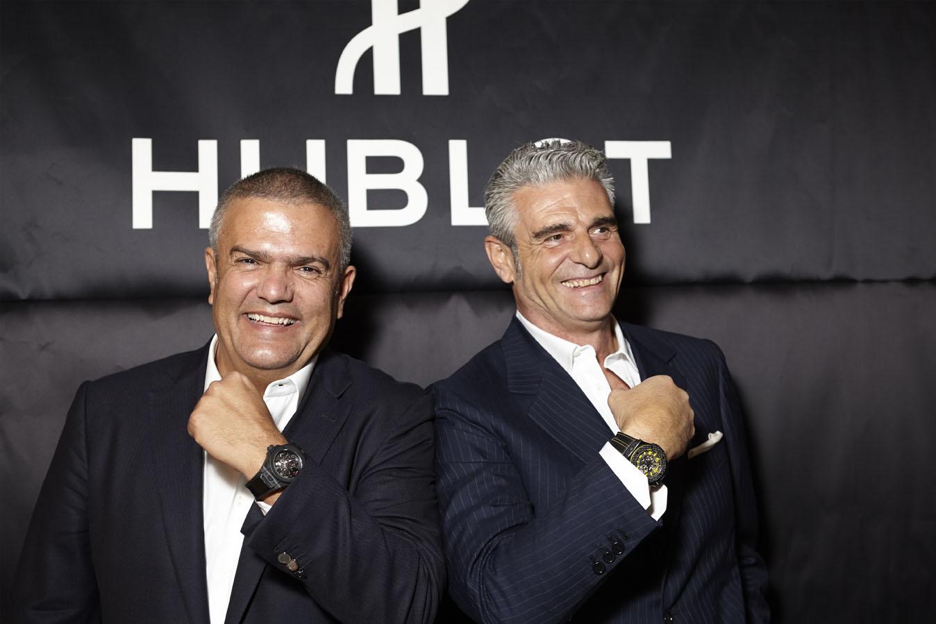 Hublot - Ricardo Guadalupe et Maurizio Arivabene