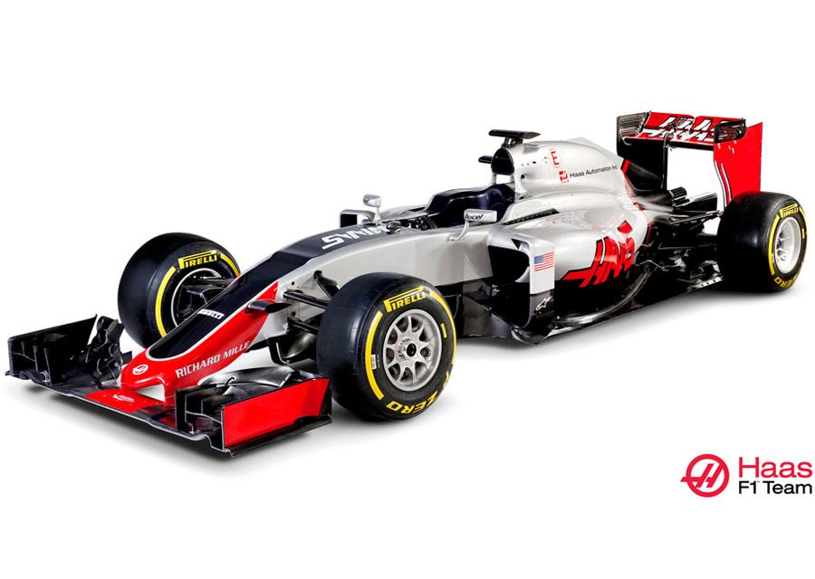 Richard Mille, partenaire de Haas F1 Team