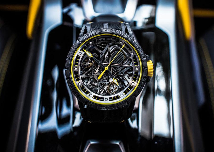Roger Dubuis - Lamborghini, Excalibur Aventador S
