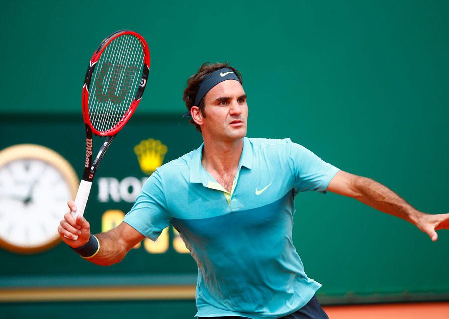 Monte-Carlo Rolex Masters - Roger Federer