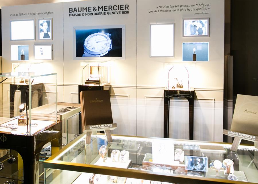 Salon Les Montres - Baume & Mercier