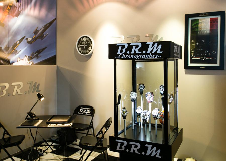 Salon Les Montres - B.R.M