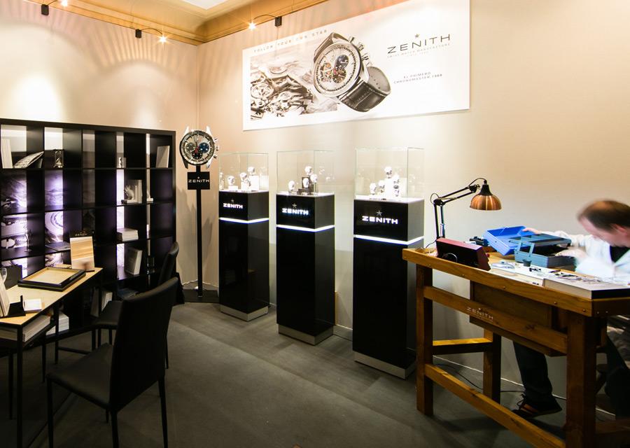 Salon Les Montres - Zenith