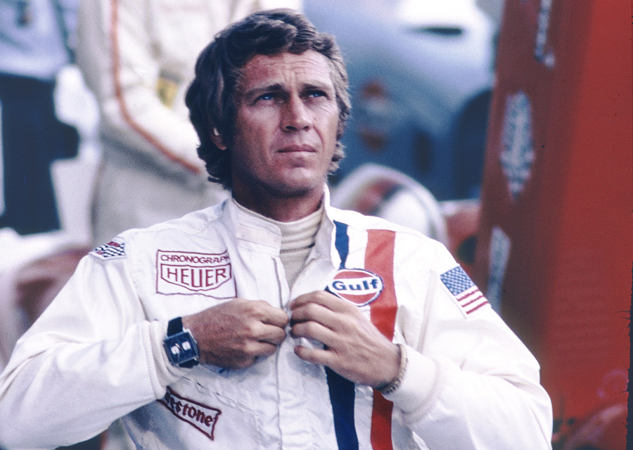 Steve McQueen, dans le film Le Mans, 1971