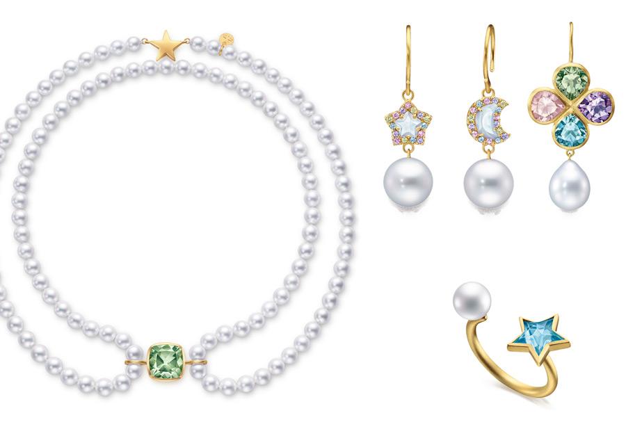 Tasaki - bijoux composés de perles