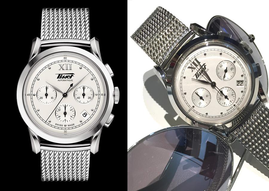 La Tissot Héritage 1948 s'inspire d'une montre exposée au musée de la marque