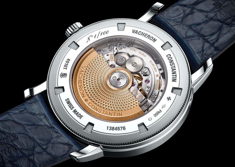 Vacheron Constantin Traditionnelle Calendrier Complet Collection Excellence Platine