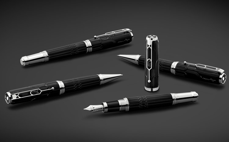 Les stylos Montblanc rendent hommage à Victor Hugo