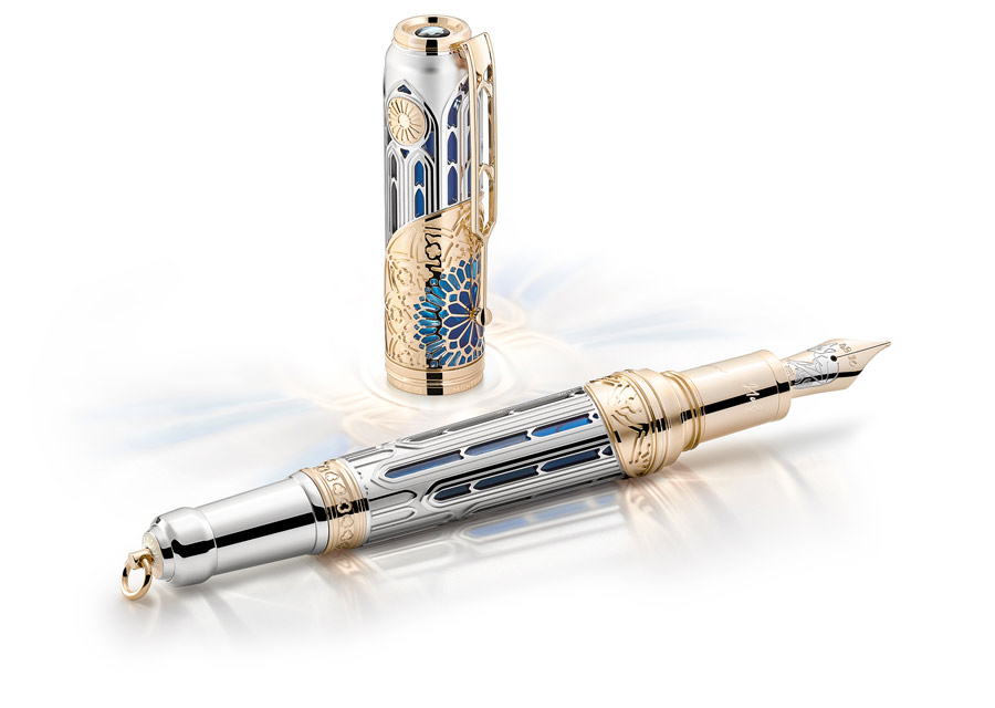 Stylo plume Montblanc Writers Edition Homage to Victor Hugo édition limitée 83