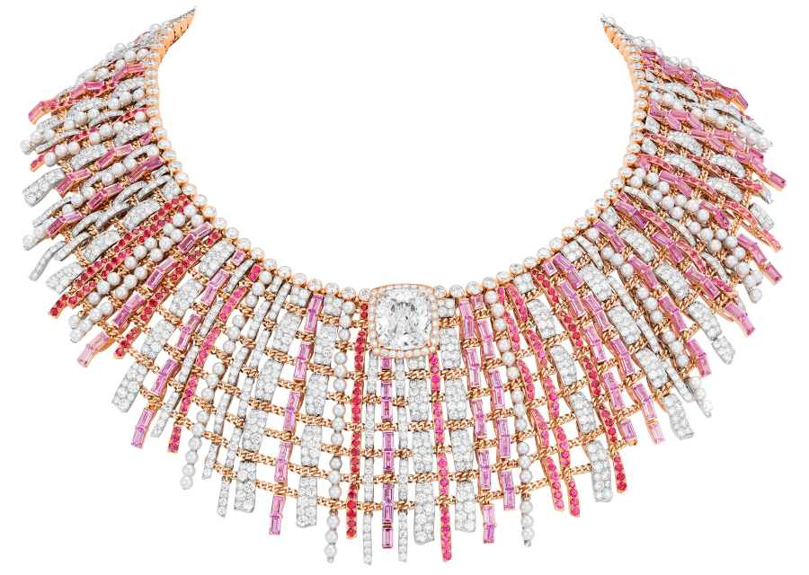 Chanel Haute Joaillerie Collier Tweed Couture