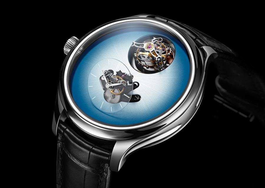 GPHG 2020 - Le Prix de l'Audace est attribué à H. Moser & Cie avec cette montre Endeavour Cylindrical Tourbillon H. Moser X MB&F