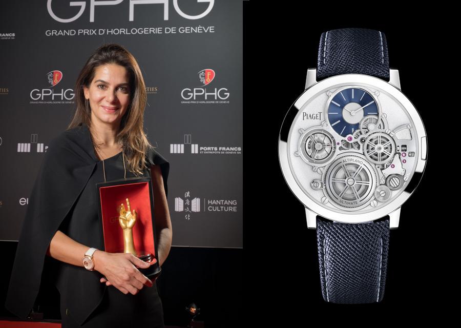 Piaget remporte l'aiguille d'Or du GPHG 2020