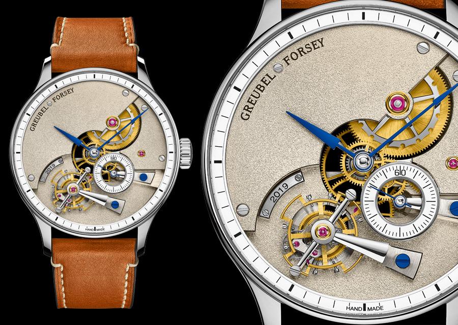 GPHG 2020 Prix de la Complication Homme pour Greubel Forsey avec la montre Hand Made 1