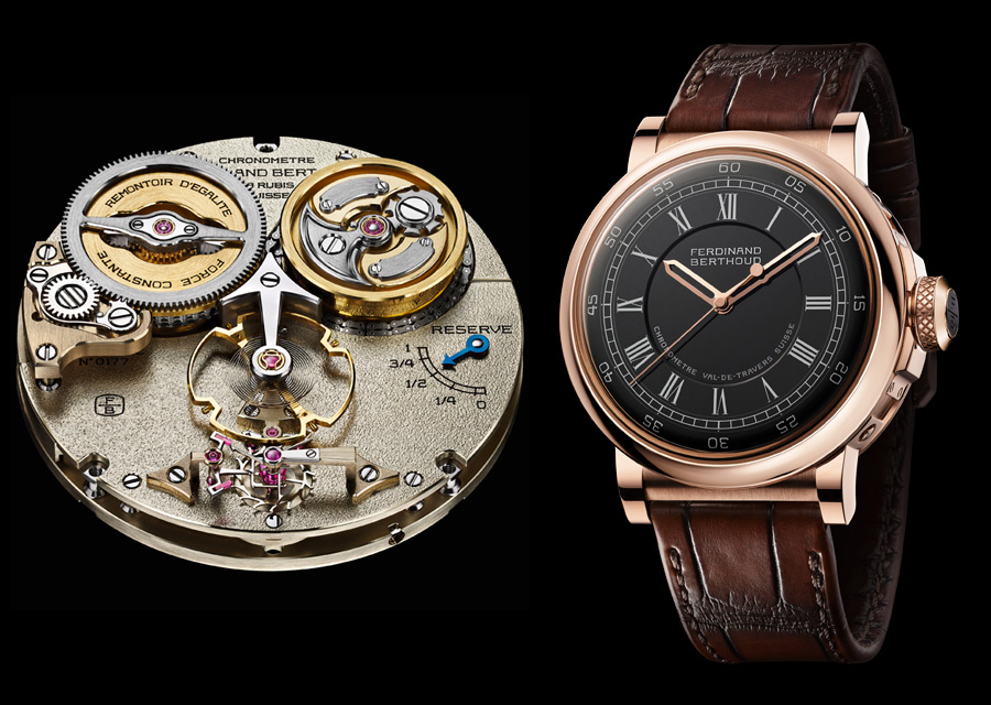 GPHG 2020 - Prix de la Chronométrie pour Chronométrie Ferdinand Berthoud avec la montre FB 2RE.2