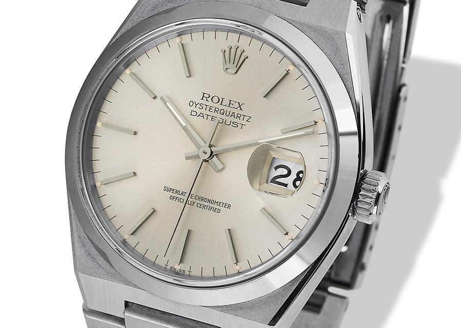 La Rolex Oysterquartz