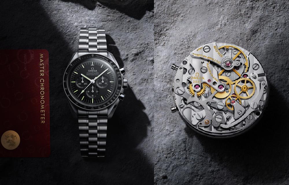 Equipée d'un calibre antimagnétique, la nouvelle Speedmaster Moonwatch est certifiée Master Chronometer