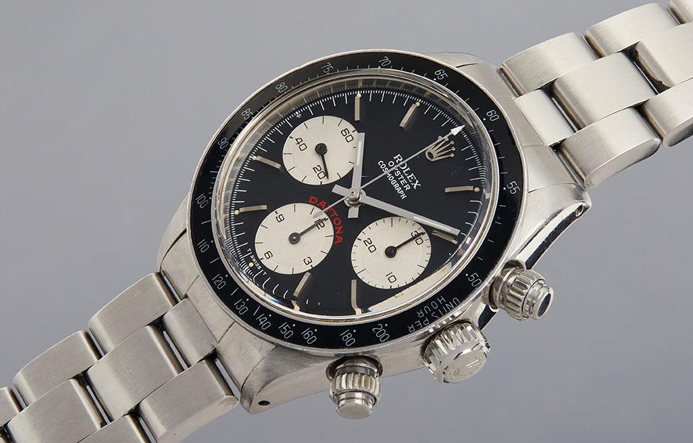 Le chronographe Rolex Daytona Big Red de Paul Newman a signé le record de la vente Phillips Racing Pulse