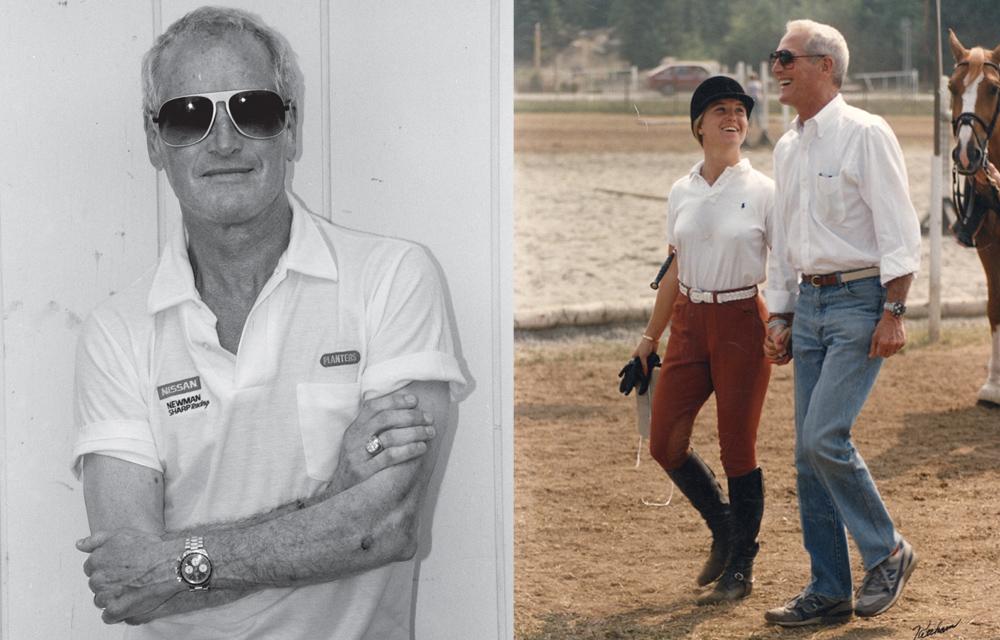 Paul Newman, sa fille et son Daytona Rolex Big Red