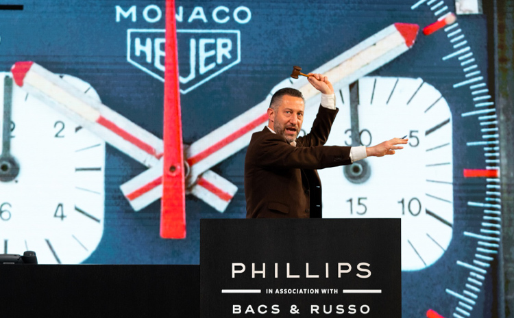 Aurel Bacs a orchestré la vente record Phillips Racing Pulse le 12 décembre 2020