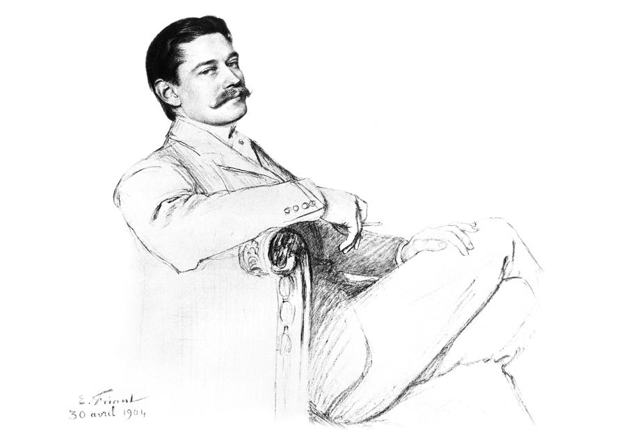 Portrait de Louis Cartier en vente chez Artcurial