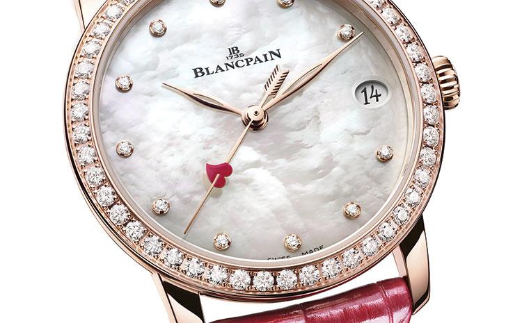 Saint-Valentin montre Blancpain 2021